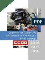 Convenio talleres de reparación mecánica