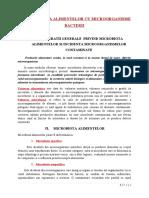area Alimentelor Cu Microorganisme-bacterii Final 1