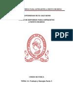 Física Tema 13 Trabajo y Energía Parte 3 Versión pdf