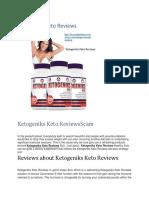 Ketogeniks Keto Reviews