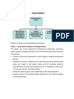 Project Guidelines