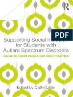 Supporting Social Inclusion for Students With Autism Spectrum Disorders Insights From Research and Practice