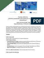 Programa retos eco UE 2020