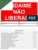 ANDAIME NÃO LIBERADO - NOVO MODELO