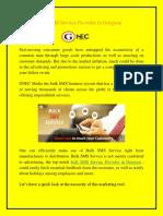 Bulk SMS Service Provider in Gurgaon
