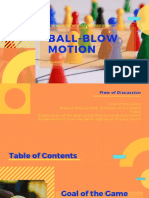 Ball Blow Motion
