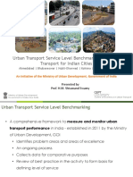 5.2  Benchmarking urban transport service - Experience from India
