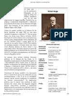 Victor Hugo - Wikipedia, la enciclopedia libre