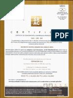 Certificat de conformitate pentru zidarie