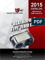 15.  Weatherford Type Pump Parts