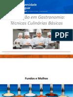 Fundos, Molhos e Espessantes- 2017.2(1)