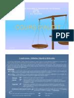 Fethi HAMROUNi, Cours Audit CES-RC, 1ère partie