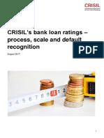 CRISILs Bank Loan Ratings