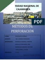 METODOS_DE_PERFORACION y lodos