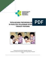 Buku Pedoman Tatalaksana Pneumonia 2018