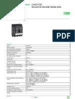 Disjuntores Compact NSX_LV431130