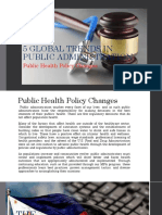 5 GLOBAL TRENDS IN PUBLIC ADMINISTRATION
