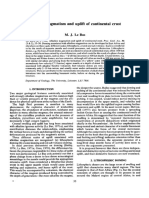 alkaline magmatisim and uplift of magmatisim