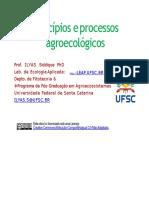 Principios e processos agroecologicos