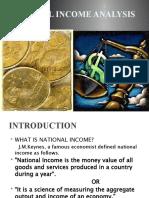 National Income Analysis Final