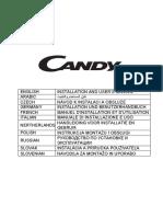 CANDY instruction manual for 913A+913 (EN+AR+CZ+DE+FR IT+NL+PL+RU+SK+SL) 201806