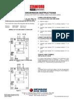 sx460 conversion chart
