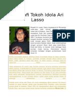 Biografi Tokoh Idola Ari Lasso