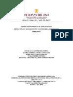 T1.Lic. en pedagogía infantil VI. Legislación infancia y adolescencia.niños niñas y adolescentes en colombia.Gloria D. Gómez G.