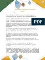 Presentación del curso Observación y entrevista (plan nuevo)