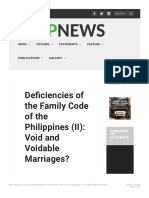 Deficiencies of the Family Code of the Philippines II_ Void and Voidable Marri.pdf