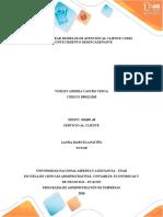 FASE 5 - PLANTEAR MODELOS DE ATENCIÓN AL CLIENTE