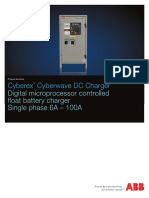 ABB Cyberwave DC Charger Single Phase 080515