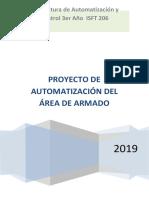 PROYECTO AUTOMATIZACION  - CINTA TRANSPORTADORA