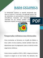 DIAPOSITIVA LITA DE LOS CICLONES