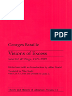 Visions of Excess Selected Writings, 1927 - Georges Bataille.pdf
