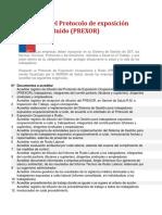 Fiscalización del Protocolo de exposición Ocupacional a Ruido
