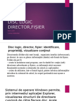 disc logic, director fisier.pptx