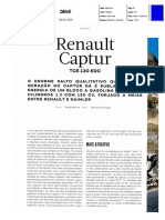 "NOVO RENAULT CAPTUR TCe 130 NA ""AUTO DRIVE"""