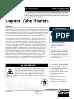 Dayton-Commercial-Tube-Heater-Manual