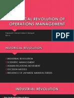 Historical Revolution TQM