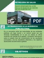 LA PAZ C.P.S. - PRESENTACIÓN RENDICIÓN DE CUENTAS FINAL 2017 petrolera.pdf