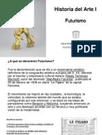 Presentación Futurismo Historia Del Arte 1 2020