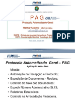 Apresentação do Sistema PAG