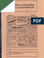 Bahasa dan Susastra Dalam Guntingan - Maret 1995 Nomor 116.pdf