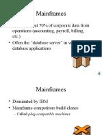 Mainframes Ppt