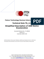 TN_113_Simplified Description of USB Device Enumeration