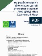 Презентация Володина Фейнберг НСМ