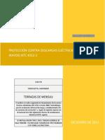 PROTECCION CONTRA DESCARGAS ATMOSFERICAS CASA 58 TORRES DE MENSULI