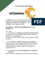 Vitamina C e immunità