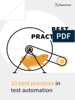 10 Best Practices in Testautomation